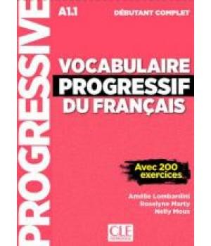 Підручник Vocabulaire progressif du français - Niveau Débutant complet Nouvelle couverture Livre + CD + Livre-web