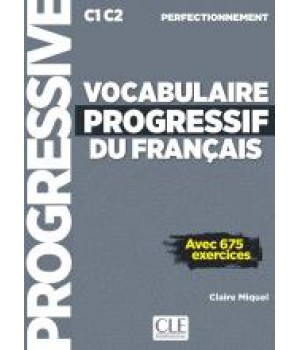 Підручник Vocabulaire progressif du français Perfectionnement Livre + CD audio