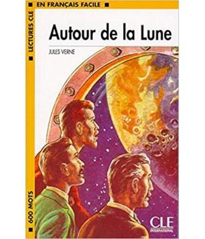Книга для читання Lectures facile Niveau 1 Autour de la Lune Livre