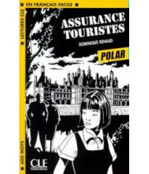 Книга для читання Lectures facile Niveau 1 Assurance touristes Livre