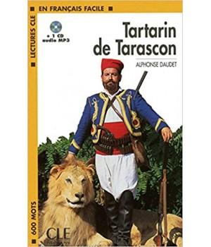 Книга для читання Lectures facile Niveau 1 Tartarin de Tarascon Livre + audio