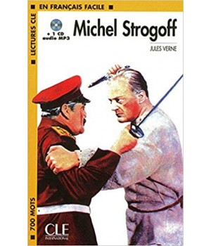 Книга для читання Lectures facile Niveau 1 Michel Strogoff Livre + audio