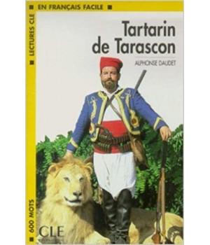 Книга для читання Lectures facile Niveau 1 Tartarin de Tarascon Livre