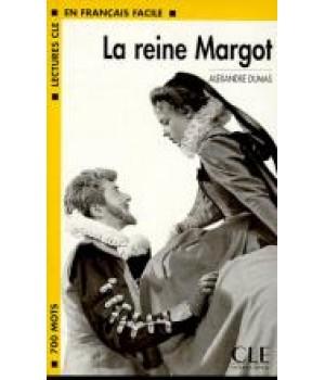 Книга для читання Lectures facile Niveau 1 La Reine Margot Livre