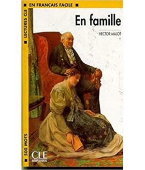 Книга для читання Lectures facile Niveau 1 En Famille Livre