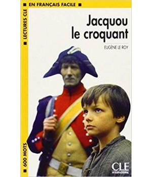 Книга для читання Lectures facile Niveau 1 Jacquou Le Croquant Livre