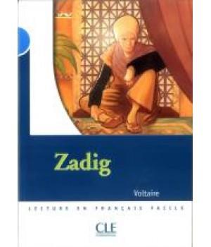 Книга для читання Collection Mise en scene Niveau 4 Zadig Livre