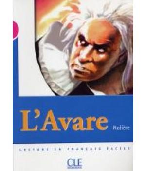 Книга для читання Collection Mise en scene Niveau 3 L'Avare Livre