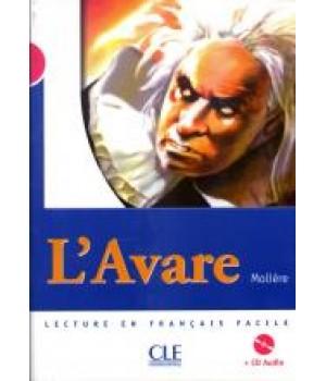 Книга для читання Collection Mise en scene Niveau 3 L`Avare Livre + CD audio