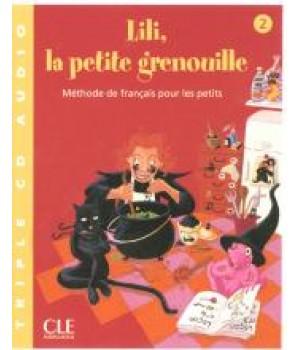 Диски Lili, La petite grenouille 2 CD audio collectifs