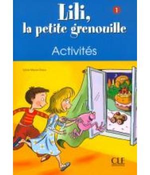 Робочий зошит Lili, La petite grenouille 1 Cahier d'exercices