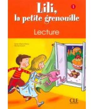 Рабочая тетрадь Lili, La petite grenouille 1 Cahier de lecture