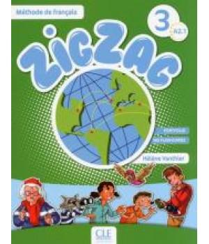 Підручник ZigZag 3 Livre de l'élève + CD audio