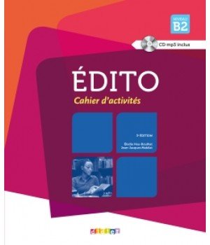 Робочий зошит Edito B2 (Edition 2013) Cahier d'exercices + CD