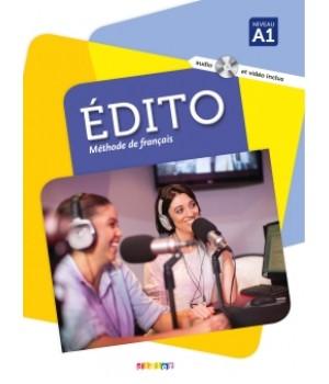 Підручник Edito A1 (Edition 2016) Livre de l'élève + DVD + CD mp3