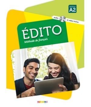 Підручник Edito A2 (Edition 2016) Livre de l'élève + DVD + CD mp3