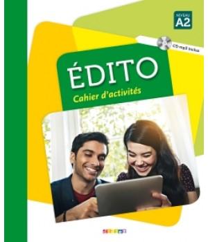Робочий зошит Edito A2 (Edition 2016) Cahier d'exercices + CD mp3