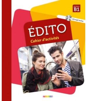 Робочий зошит Edito B1 (Edition 2018) Cahier d'exercices