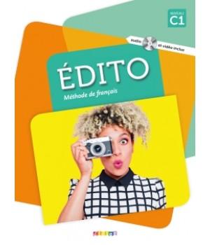 Підручник Edito C1 (Edition 2016) Livre de l'élève + DVD + CD mp3