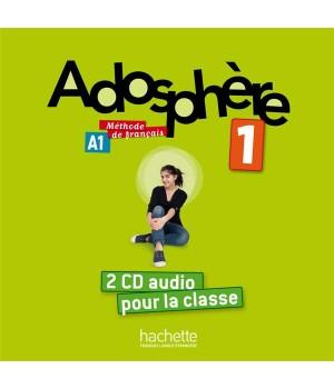 Диски Adosphère : Niveau 1 (A1) CD audio classe (x2)