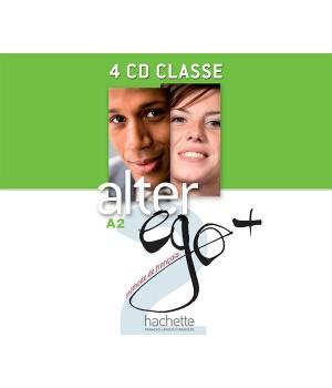 Диски Alter Ego + : Niveau 2 CD audio classe (x4)