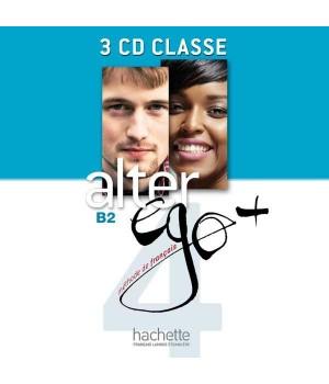 Диски Alter Ego + : Niveau 4 CD audio classe (x4)