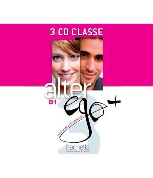 Диски Alter Ego + : Niveau 3 CD audio classe (x3)