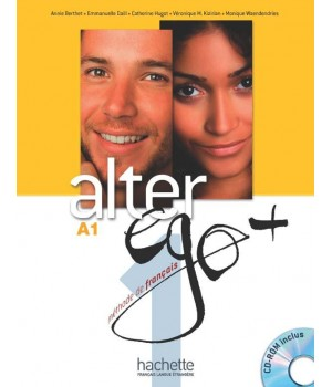 Підручник Alter Ego + : Niveau 1 Livre de l'élève + DVD-ROM