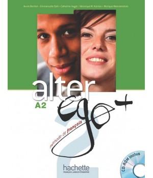 Учебник Alter Ego + : Niveau 2 Livre de l'élève + DVD-ROM