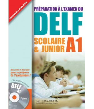 Тести DELF A1 Scolaire et Junior Cahier d'activités + CD audio