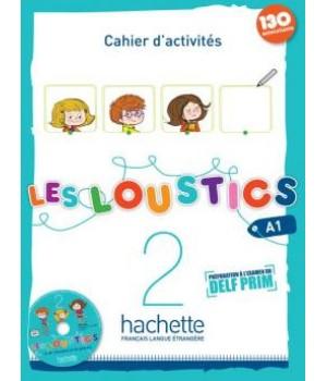 Робочий зошит Les Loustics : Niveau 2 Cahier d'activités + CD audio