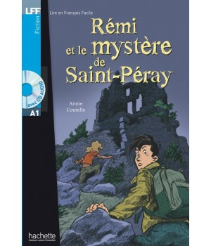 Книга для читання Rémi et le mystère de St-Péray (niveau A1) Livre de lecture + CD audio