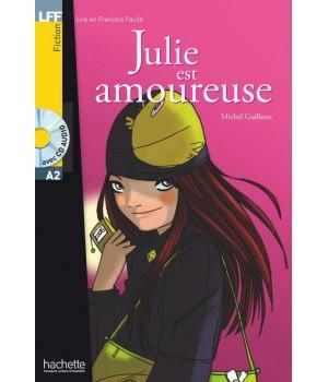 Книга для читання Juile est amoureuse (niveau A2) Livre de lecture + CD audio