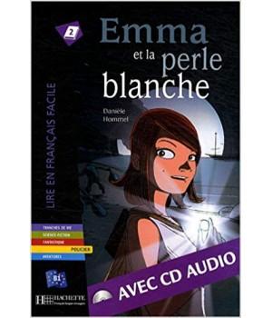 Книга для читання Emma et la Perle blanche (niveau B1) Livre de lecture + CD audio