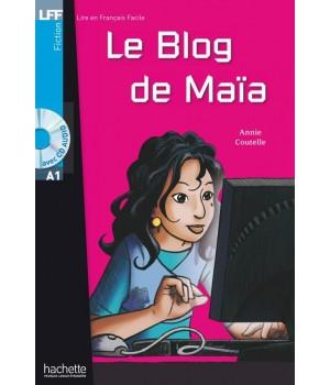 Книга для читання Le Blog de MaÏa (niveau A1) Livre de lecture + CD audio