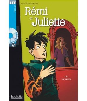 Книга для читання Rémi et Juliette (niveau A1) Livre de lecture + CD audio
