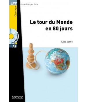 Книга для читання Le Tour du monde en 80 jours (niveau A2) Livre de lecture + CD audio