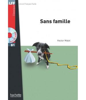 Книга для читання Sans famille (niveau B1) Livre de lecture + CD audio