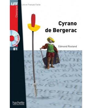 Книга для читання Cyrano de bergerac (niveau B1) Livre de lecture + CD audio