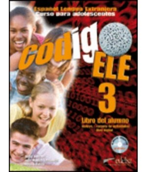 Підручник Codigo ELE 3 Libro del alumno + CD-ROM