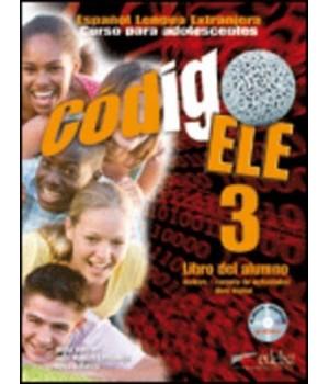 Книга для вчителя Codigo ELE 3 Libro del profesor + CD audio