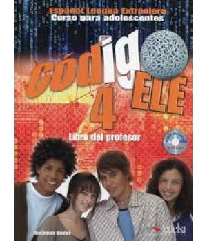Учебник Codigo ELE 4 Libro del profesor + CD audio