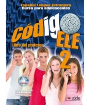 Книга для вчителя Codigo ELE 2 Libro del profesor + CD audio