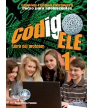 Книга для вчителя Codigo ELE 1 Libro del profesor + CD audio