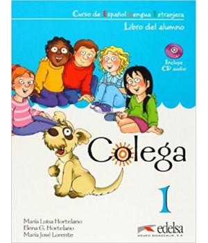 Підручник Colega 1 Libro del alumno + Audio CD