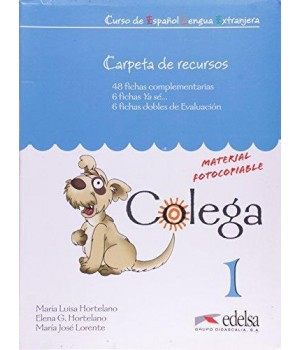 Книга для вчителя Colega 1 Carpeta de Recursos