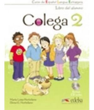 Учебник Colega 2 Libro del alumno + Audio CD
