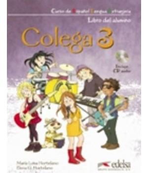 Підручник Colega 3 Libro del alumno + Audio CD