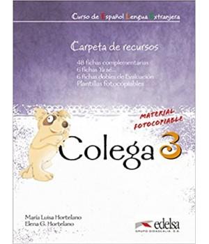 Книга для вчителя Colega 3 Carpeta de Recursos