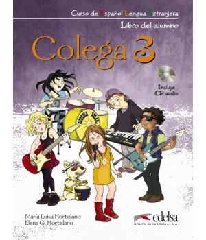 Учебник Colega 3 Libro del alumno + Libro de ejercicios + Audio CD